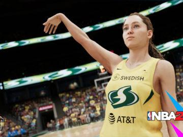NBA 2K21 The W será un nuevo modo de juego para la versión de PS5 y Xbox Series X