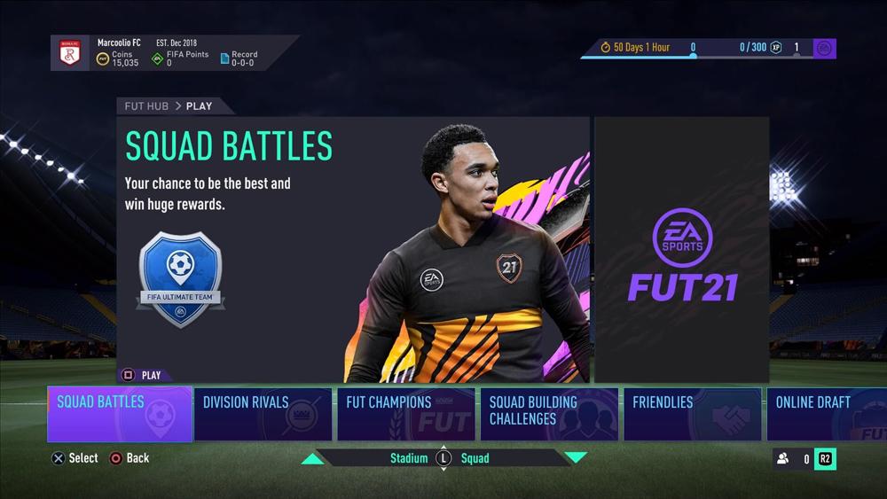 fifa 21 trial ultimate team