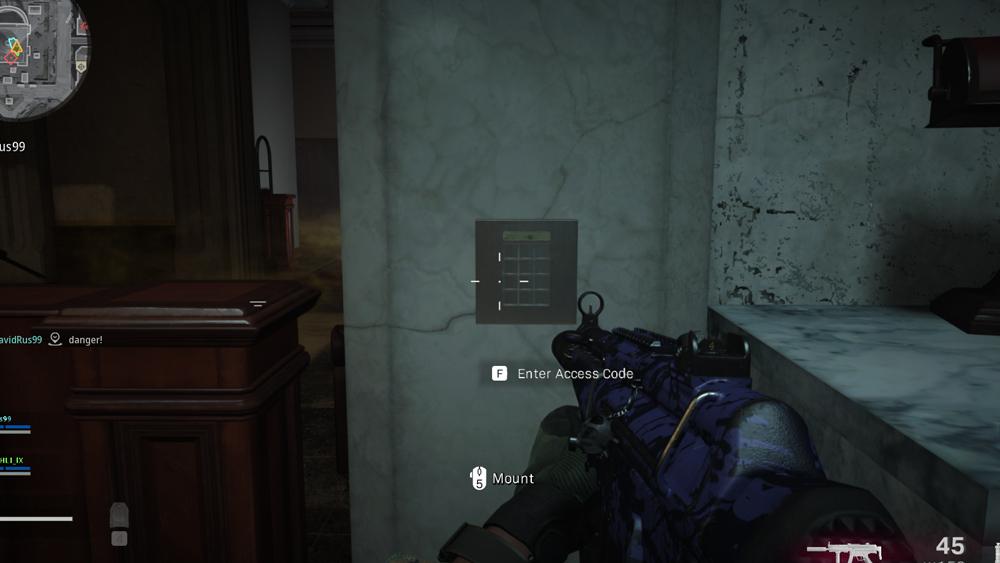 warzone estacion secreta primer paso 1