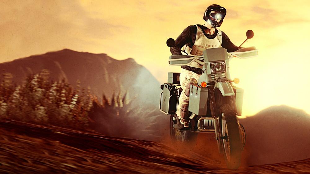 Maibatsu Manchez Scout nueva moto gta online