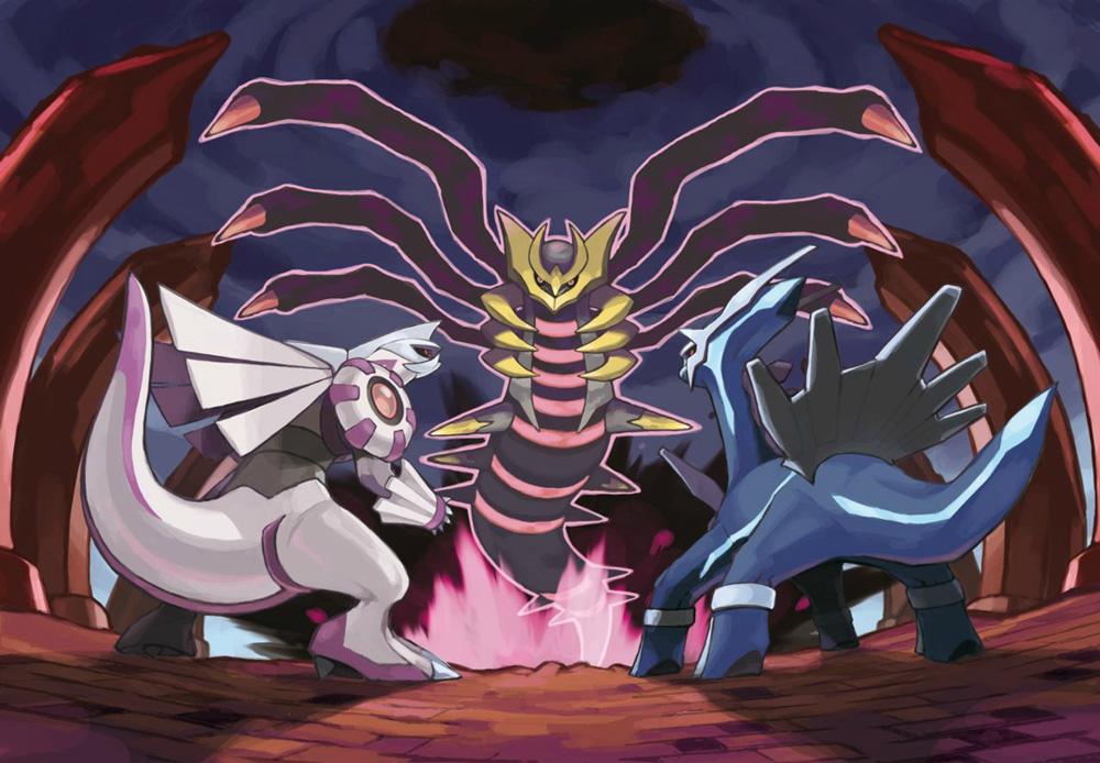 legendarios cuarta generacion pokemon