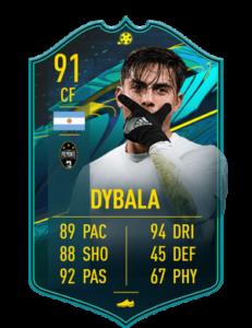 pualo dybala player moments fut 21