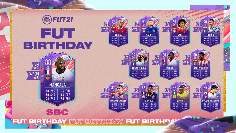 Eliaquim Mangala FUT Birthday sbc fifa 21