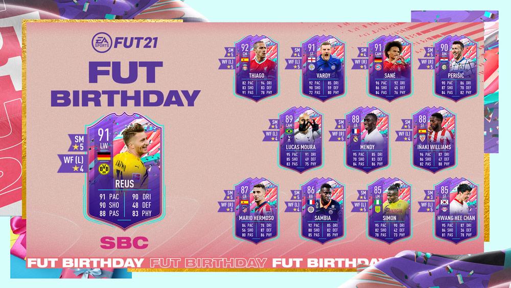 Marco Reus fut birthday fifa 21 sbc
