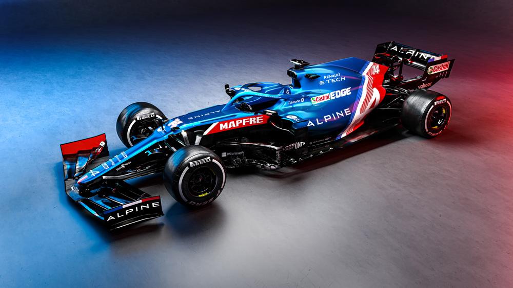alpine f1 team librea 2021