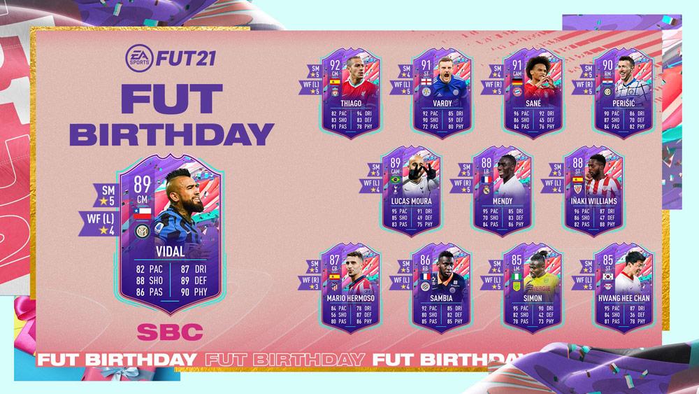 arturo vidal fut birthday sbc fifa 21