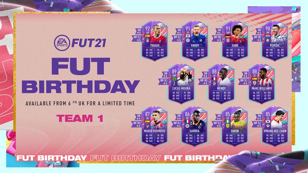 fut birthday equipo 1 revelado