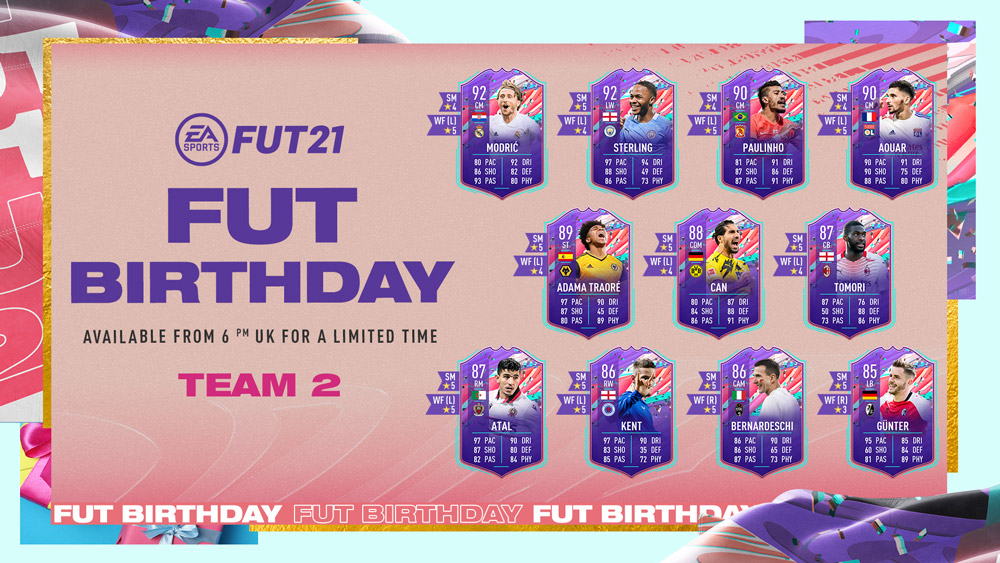 equipo 2 revelado fut birthday